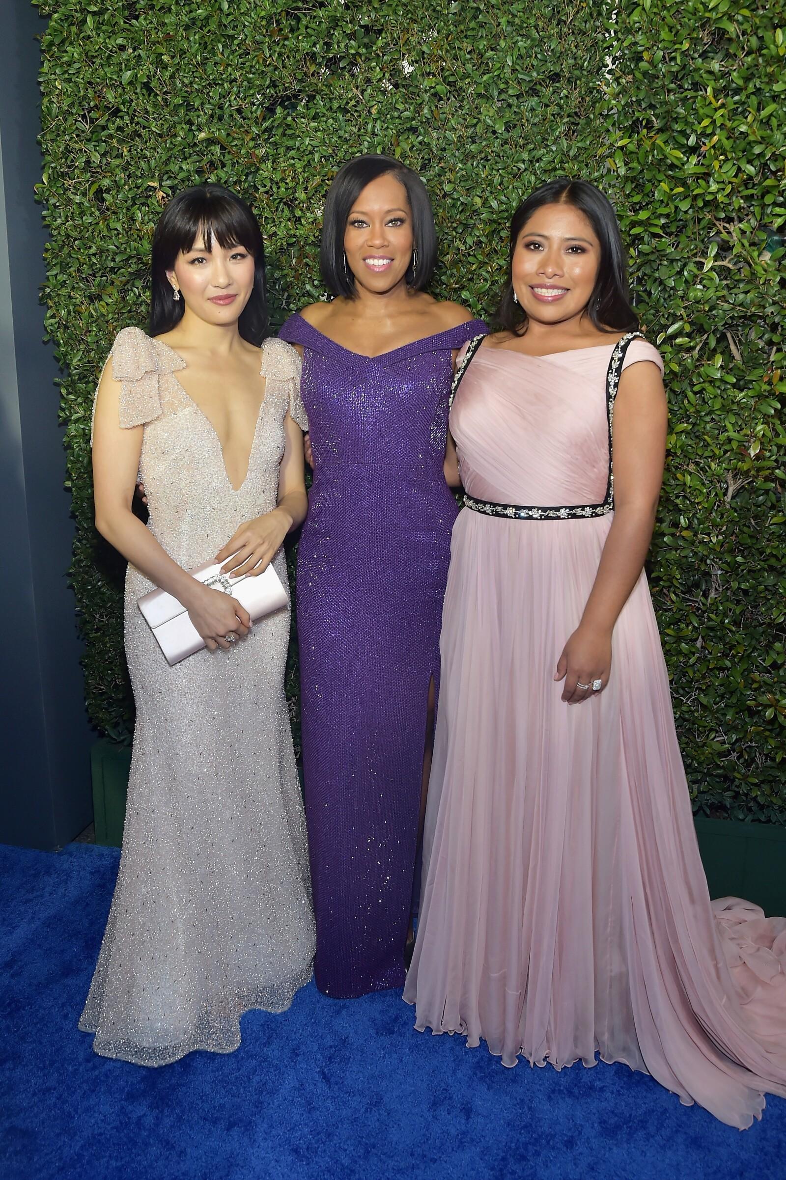 Constance Wu, Regina King y Yalitza Aparicio