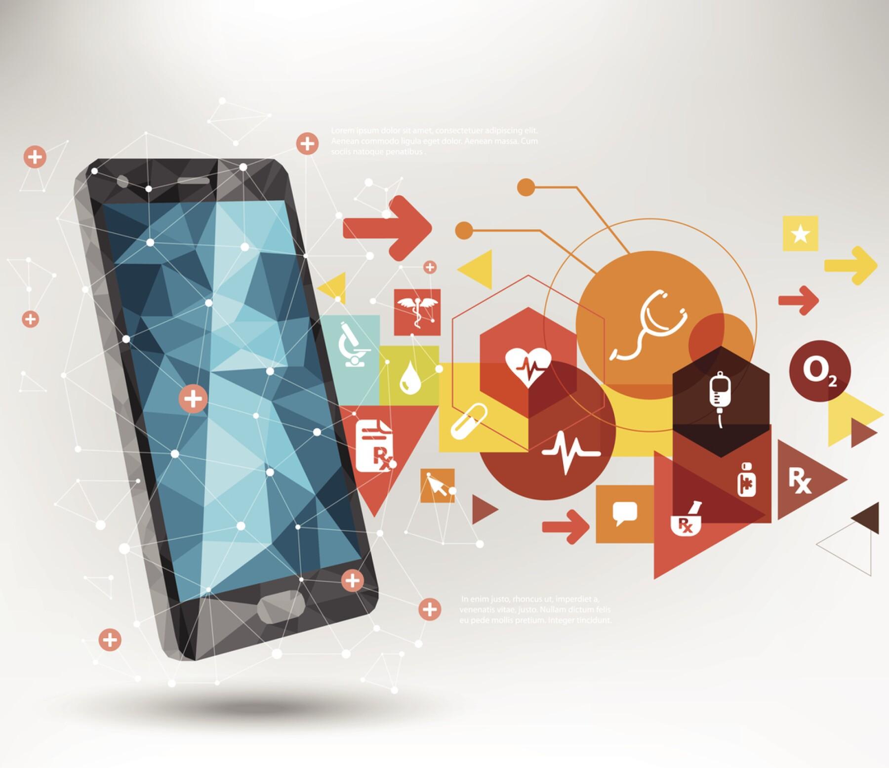 Teléfono celular_laboratorio inteligente contra enfermedades