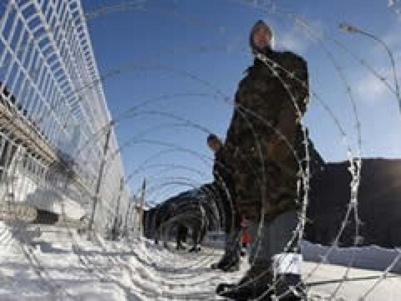 Las fuerzas de seguridad de Suiza intensificaron sus operativos para la realización del Foro de Davos. (Foto: AP)