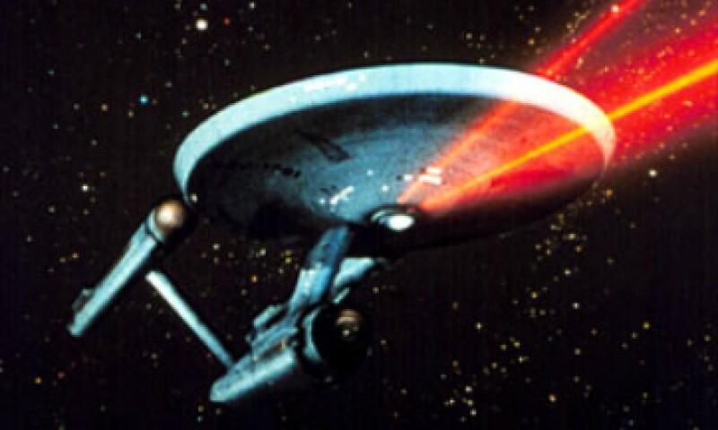 La nave de la serie original, en la que viajaba el capitán Kirk. (Foto: startrek.com)