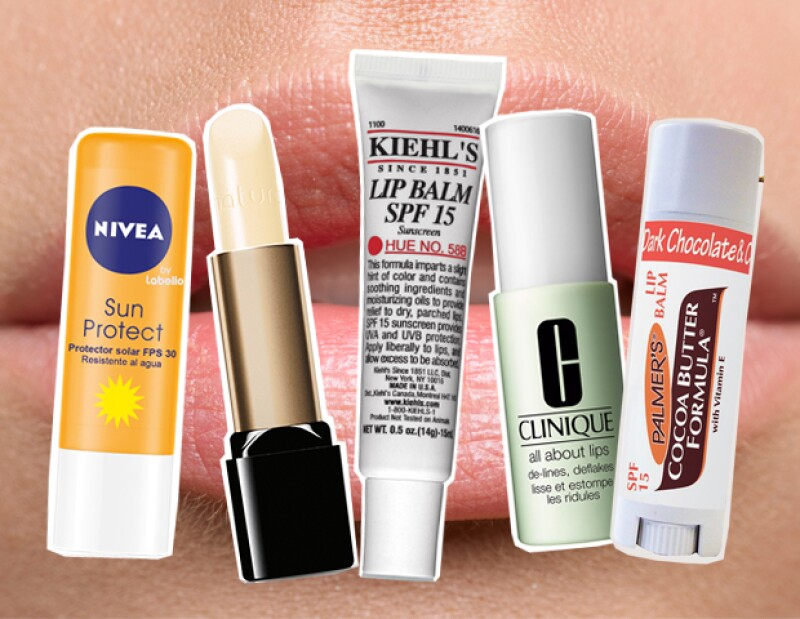 Nivea, Natura, Kiehls, Clinique y Palmers son ideales para proteger los labios del sol sin pintarlos.