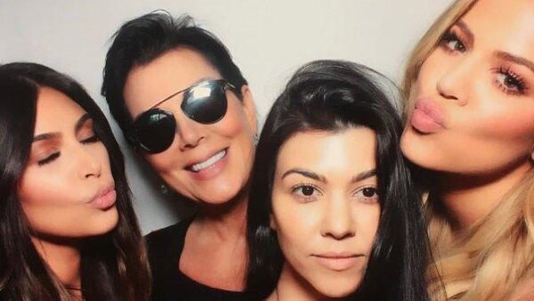 La familia Kardashian.
