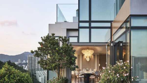 Hillside Penthouse, Kowloon, Hong Kong