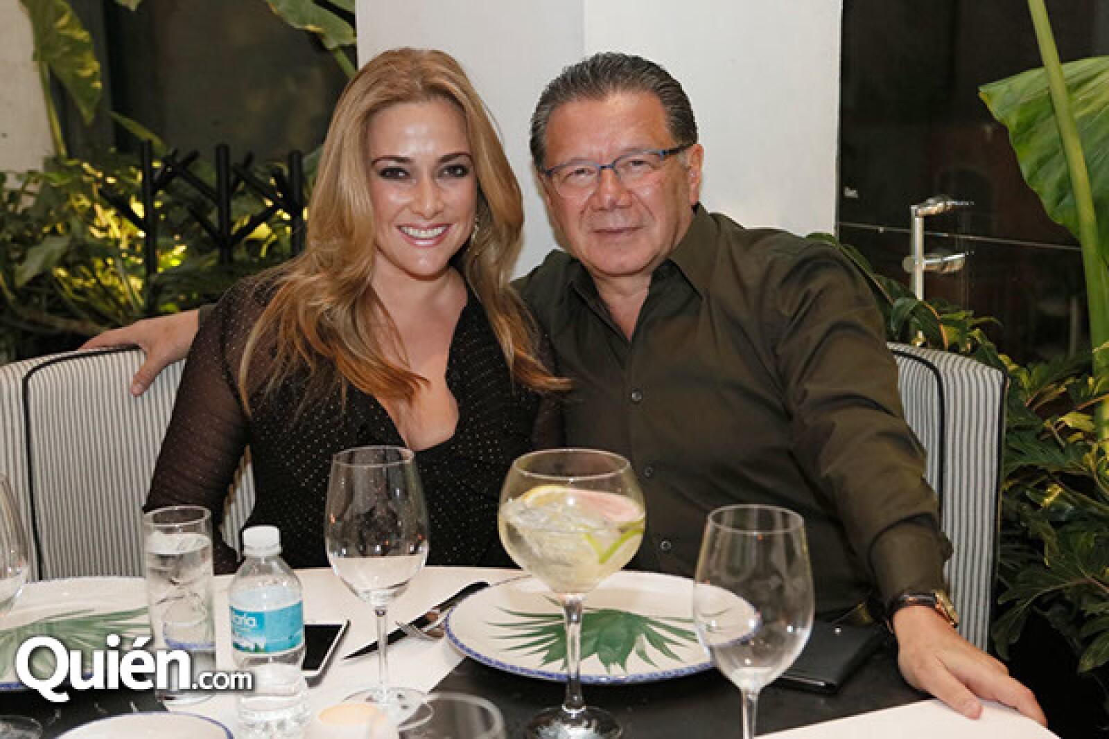 Bibiana Belsasso y Jorge Fernández Menéndez