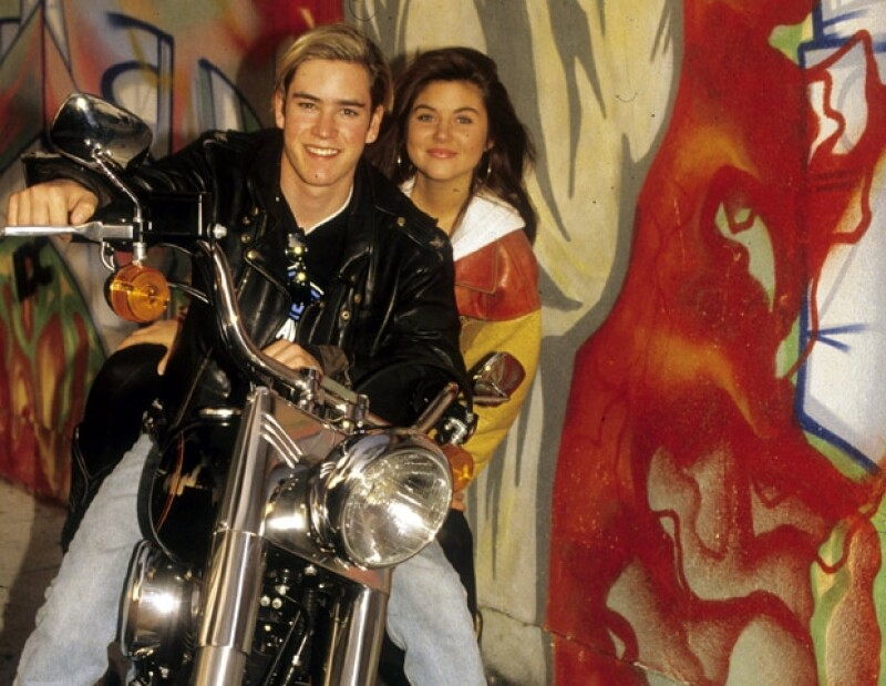 Mark Paul Gosselaar y Tiffani Amber Thiessen