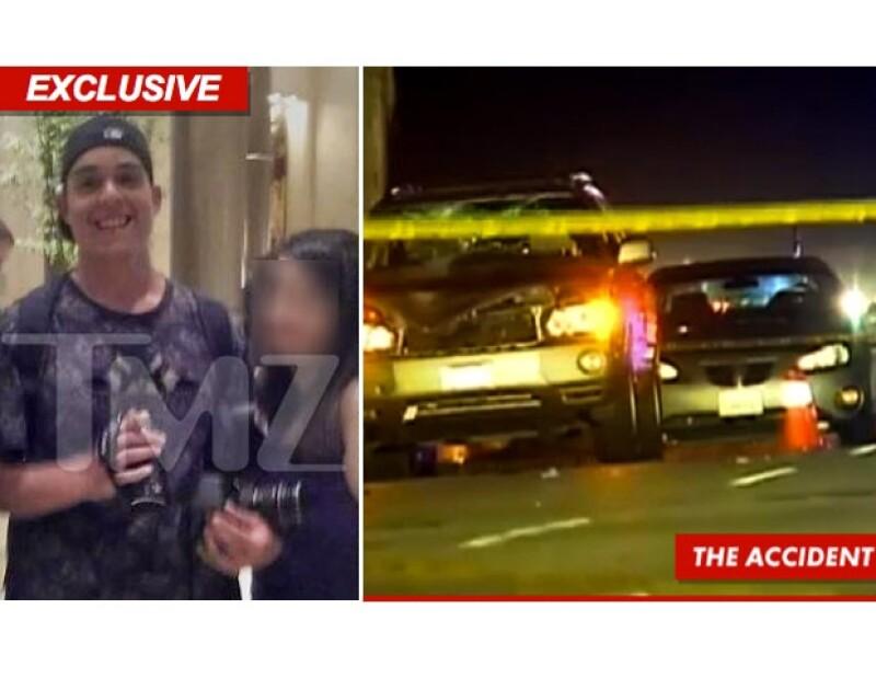 Un paparazzo perdió la vida anoche después de haber captado el coche el ídolo juvenil en una calle muy transitada de Los Ángeles.