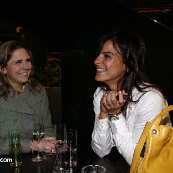 Lorena Mercenario y Carol Hanono
