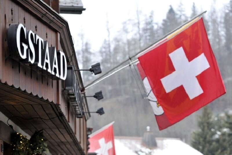 Gstaad es el destino suizo elegido por la pareja para su enlace religioso.