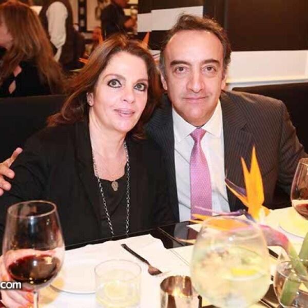 Esther Abadi y Ricardo Pria