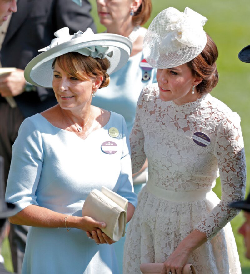 Kate y Carole Middleton