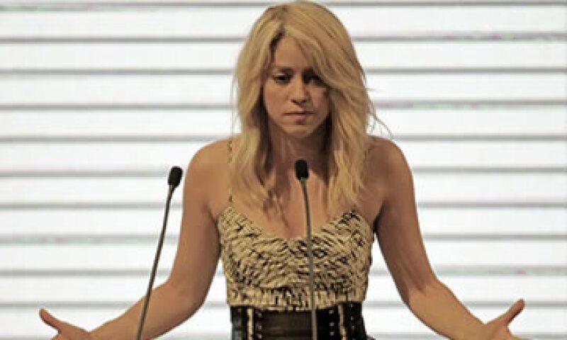 Shakira participó en la Cumbre de Empresarios, evento que se dio en el marco de la VI Cumbre de las Américas. (Foto: Reuters)