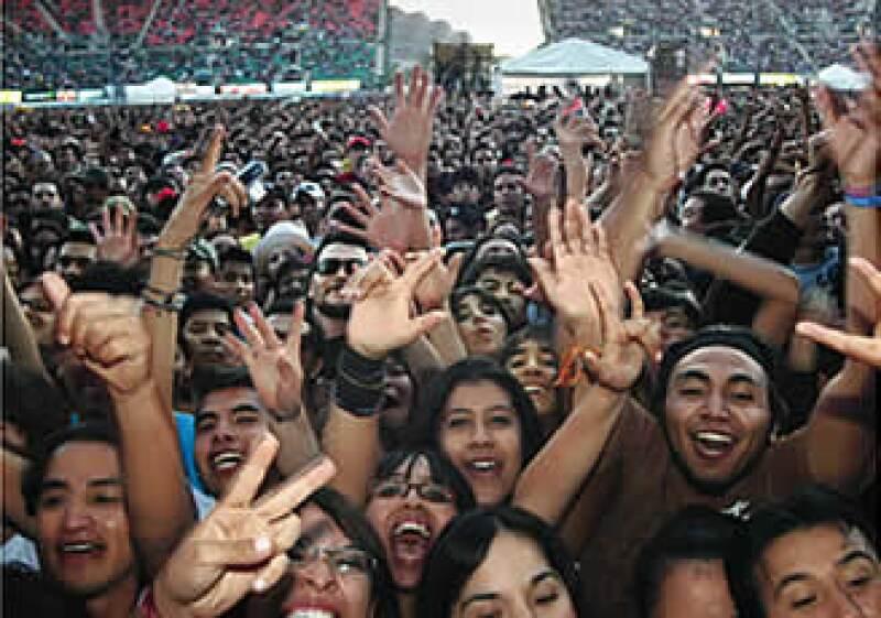 La duda es si conciertos masivos en el futuro serán on line. (Foto: Francisco Huerta)
