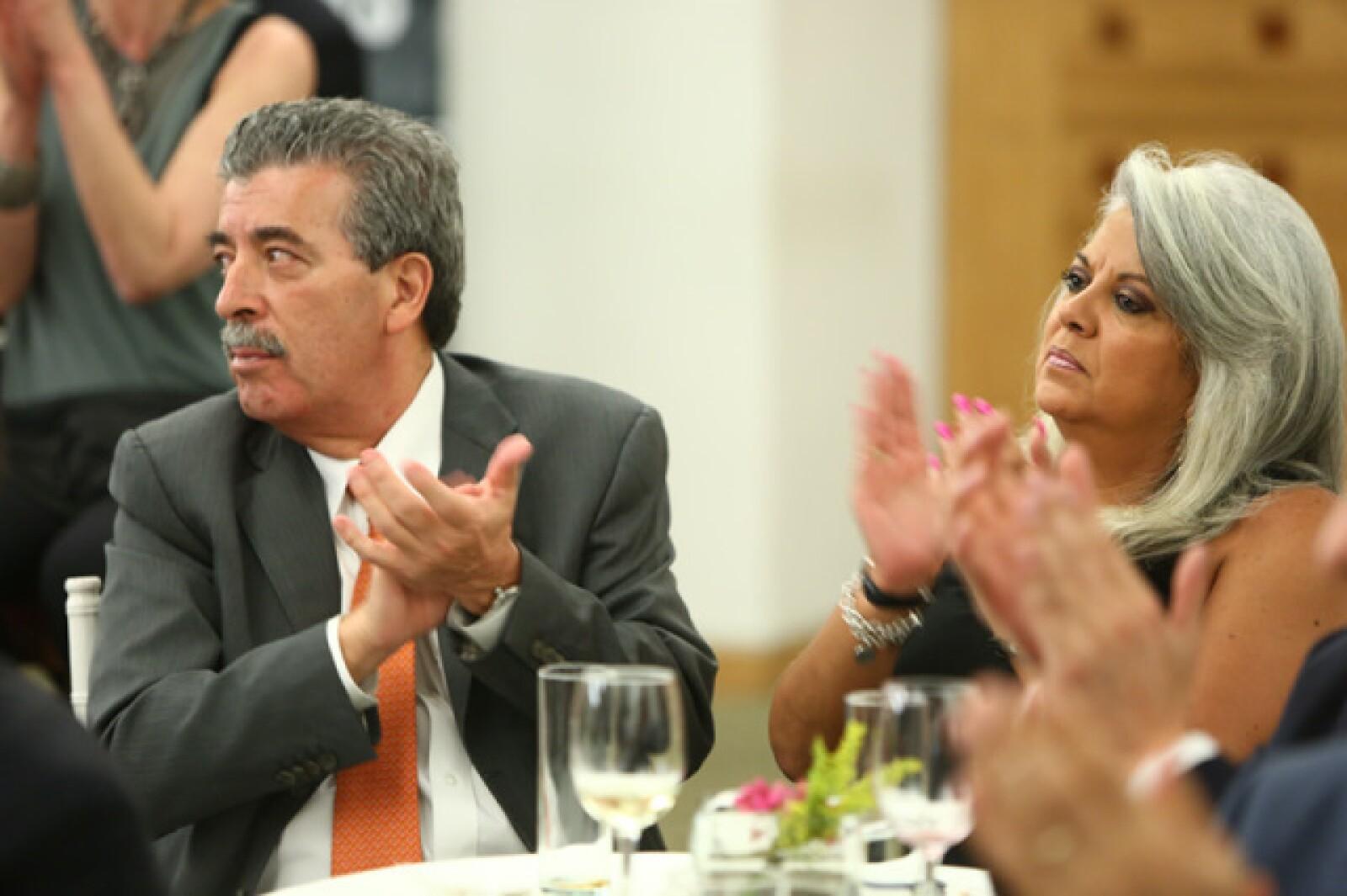 Alfonso García Acuña y Sabrina Infante Moreno