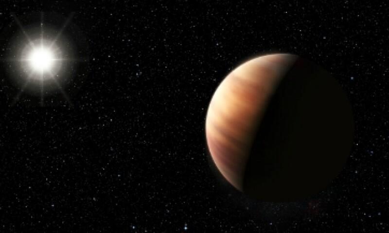 la interpretación de un artista del planeta gemelo de Júpiter y su estrella. (Foto: ESO/ Cortesía)