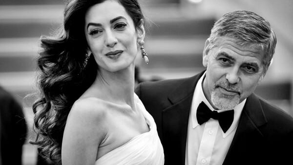 George Clooney y Amal