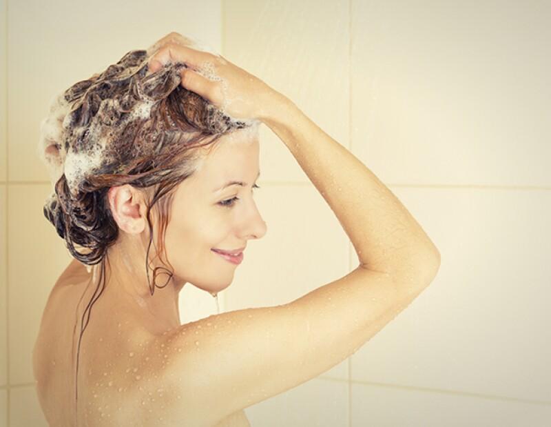 Bañarte por las noches te ahorrará tiempo en la mañana.