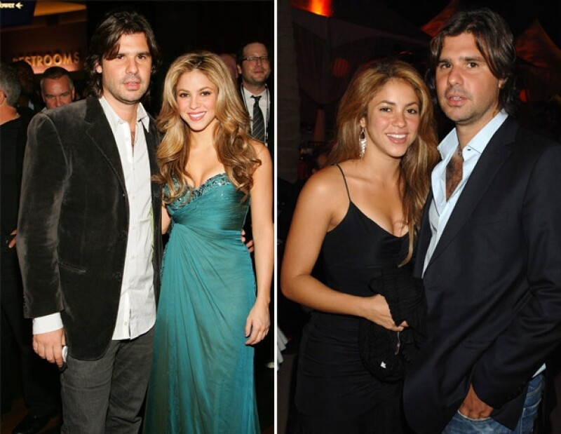 Antonio se convirtió en el incondicional de Shakira quien nunca ocultó su amor.