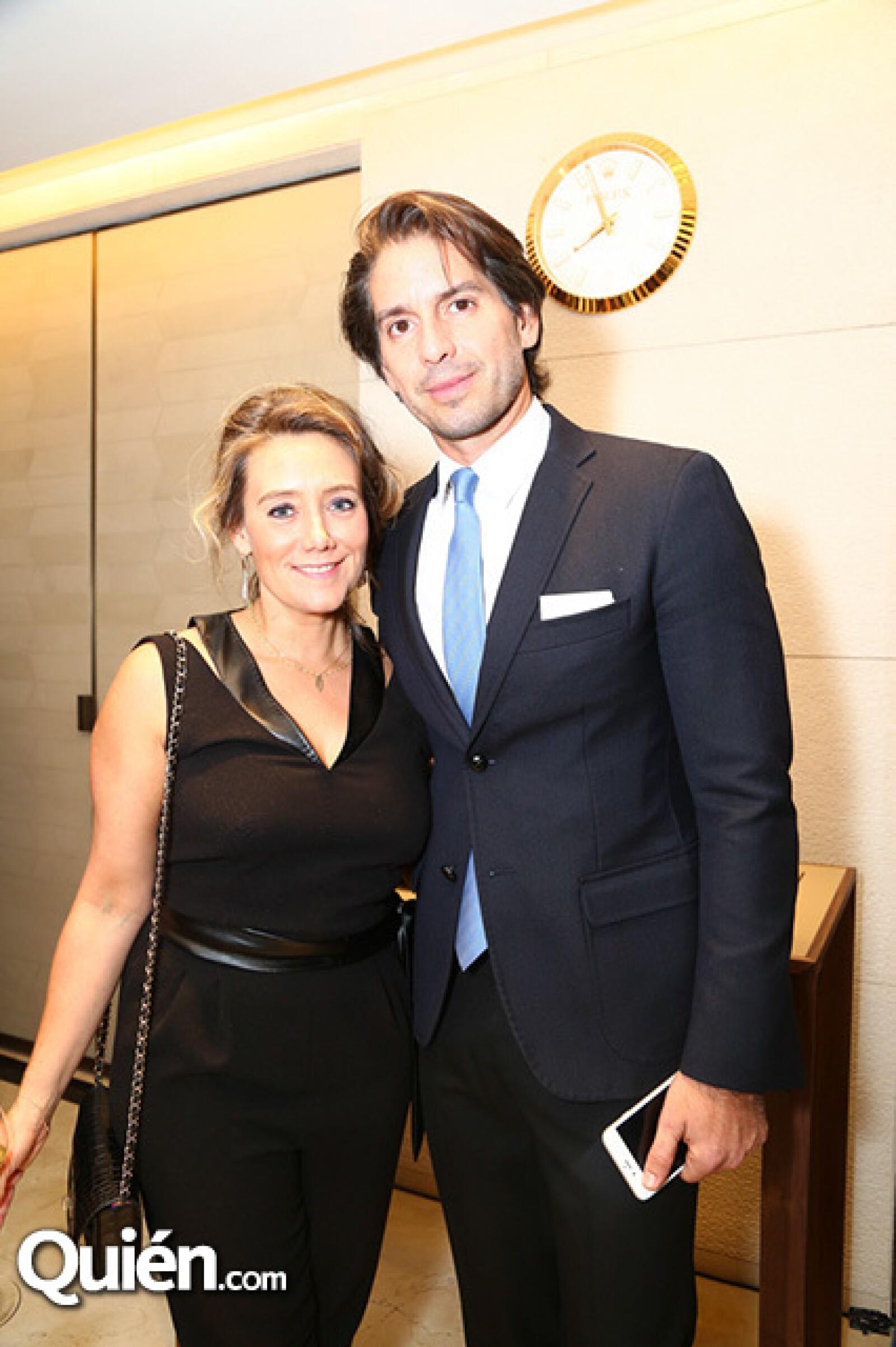 Caroline Muyl y Abelardo Marcondes