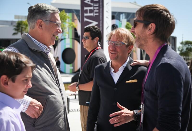 Andrés Roemer y el presidente de TV Azteca, Ricardo Salinas Pliego, llevan a cabo el evento La Ciudad de las Ideas por octava ocasión en Puebla.