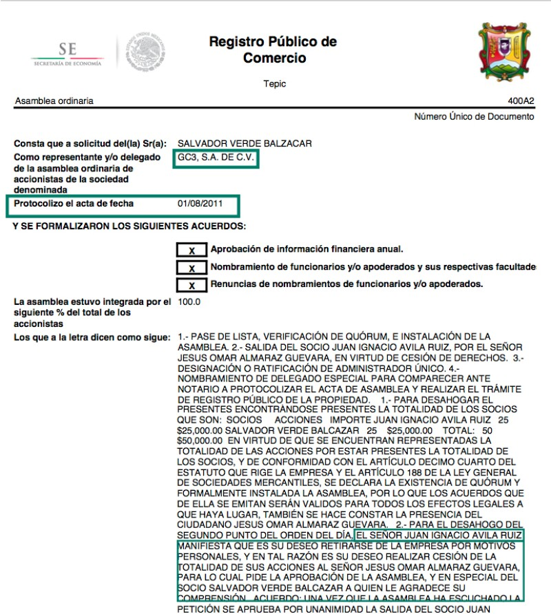 GC3, SA de CV