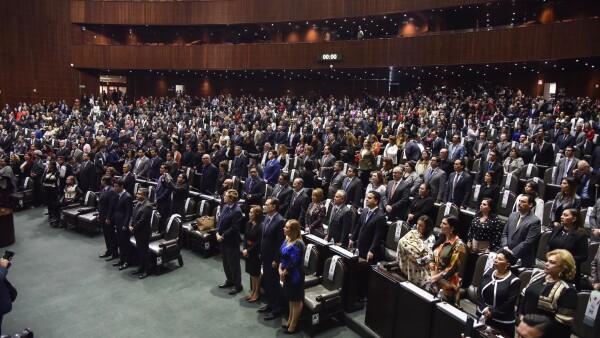 Sesión diputados