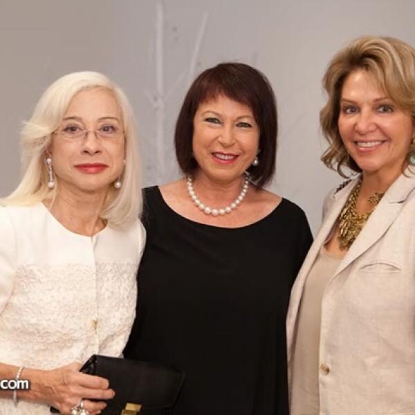 María Lipton,María Victoria Muela y María Luisa Mendoza