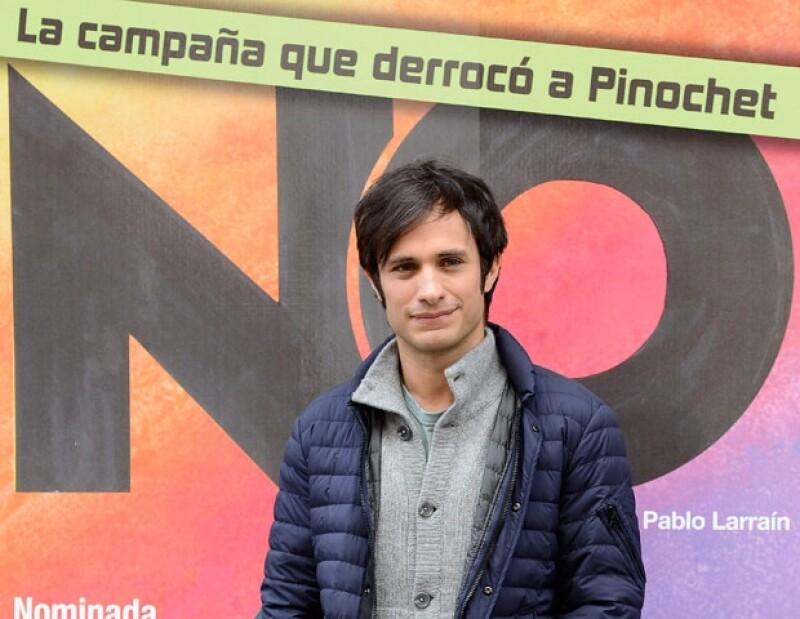 """El actor mexicano aseguró que la será la cinta """"Amor"""" la que se lleve dicho premio, pero espera que el domingo exista alguna `sorpresa´."""