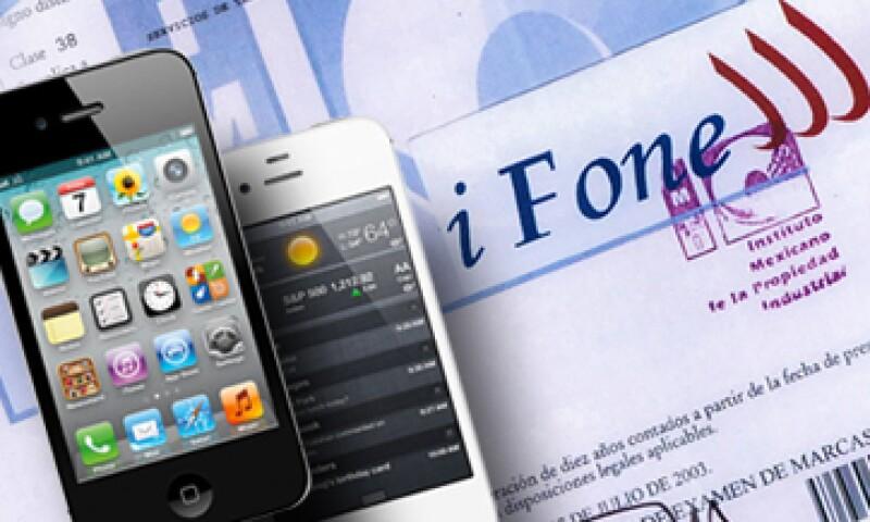 La demanda de iFone contra Apple podría hacerse extensiva a Telcel, Iusacell y Movistar, dicen sus abogados.  (Foto: Especial)
