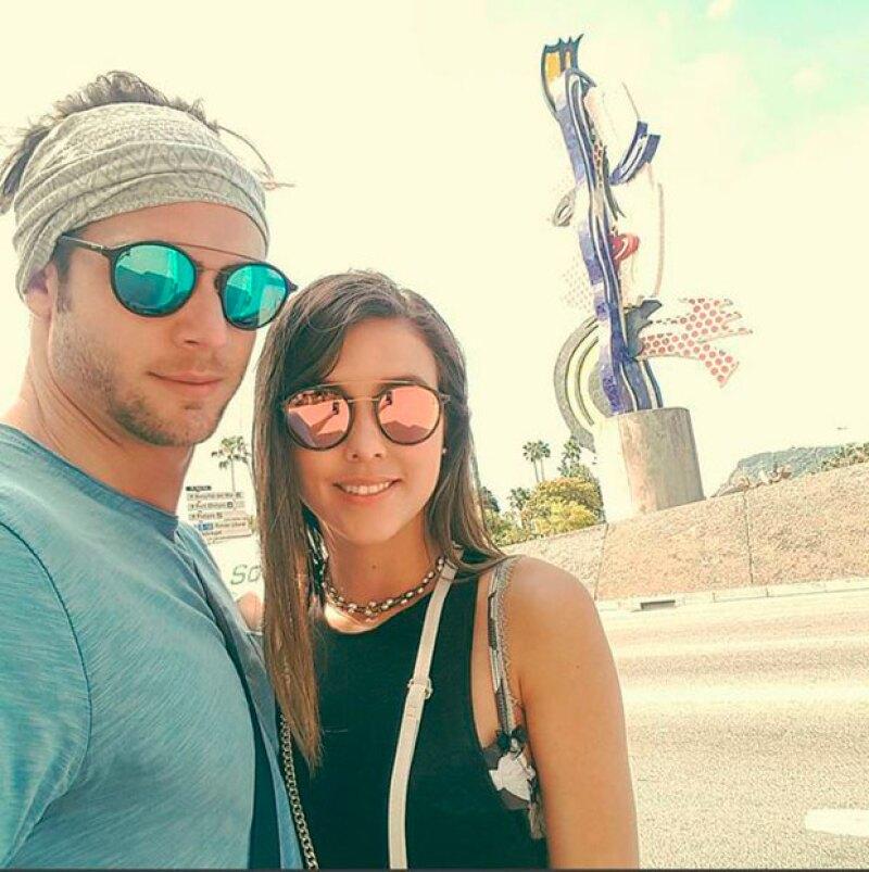 Tras visitar Praga, la pareja se dirigió a Barcelona.