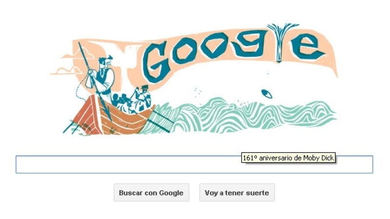Google, doodle, moby dick