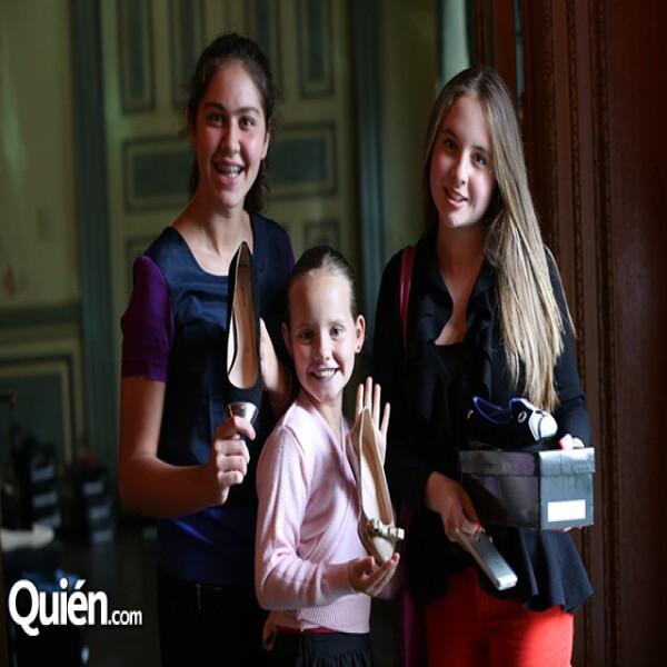 Daniela Aiza,Bernadette Vedrenne,Isabela Rubio
