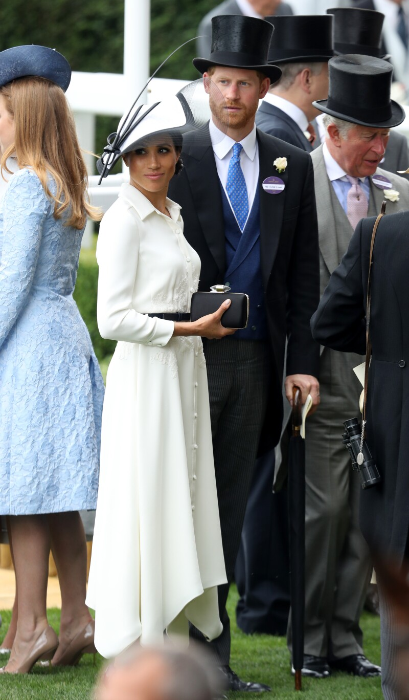 Meghan Markle en su primer Royal Ascot