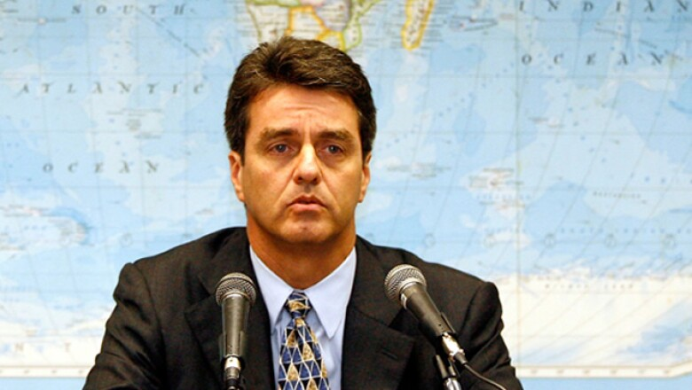 Es el representante permanente de Brasil ante la OMC.