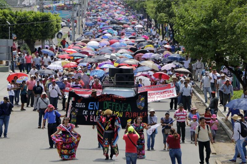 La CNTE en Chiapas
