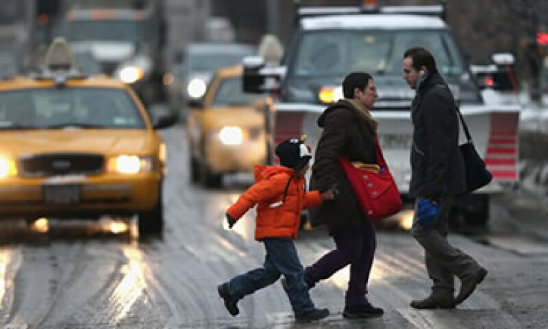 Las condiciones climáticas severas afectaron la actividad de consumo en algunos estados como Nueva York. (Foto: Getty Images)