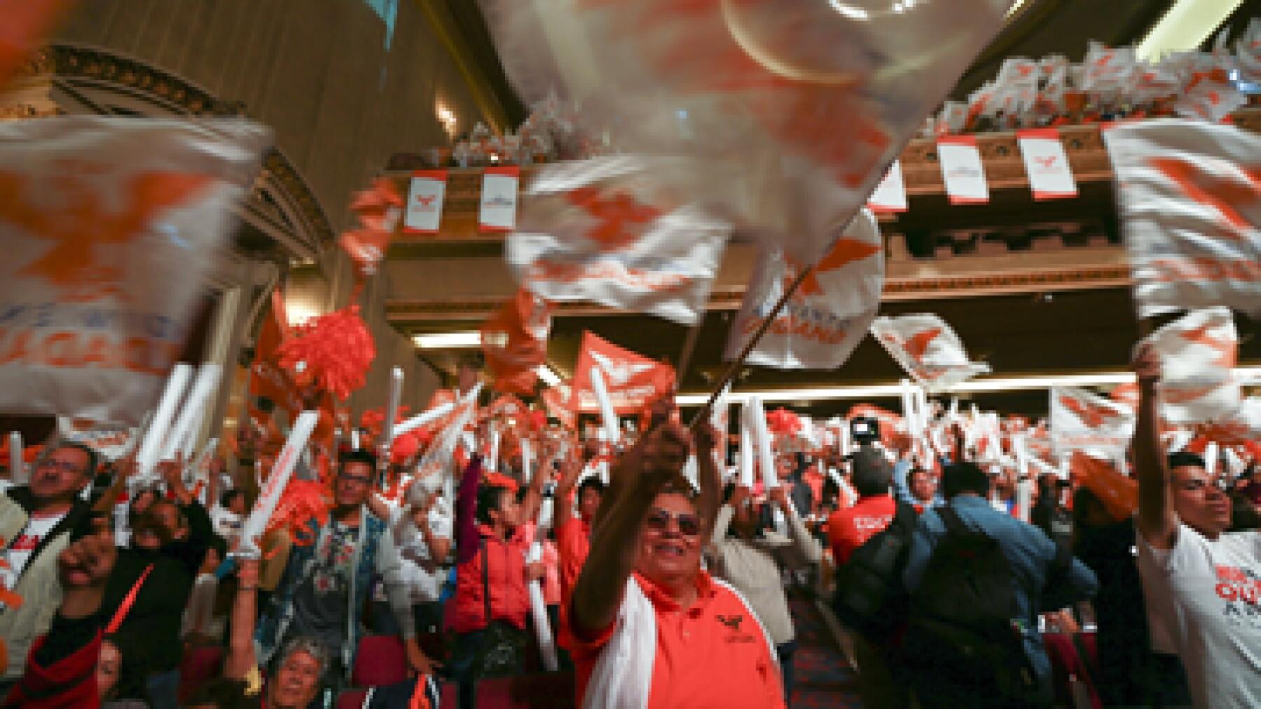 Movimiento Ciudadano ha postulado candidatos a ayuntamientos, pero no a la gubernatura. (Foto: Cuartoscuro )