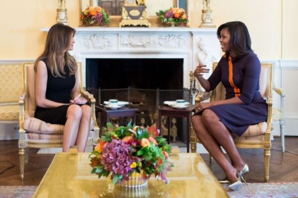 Melania  y Michelle se conocieron el pasado 10 de noviembre en la Casa Blanca.