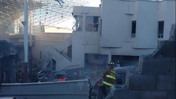 Hasta el momento se reportan dos muertos según el jefe de Gobierno del DF, Miguel Ángel Mancera.