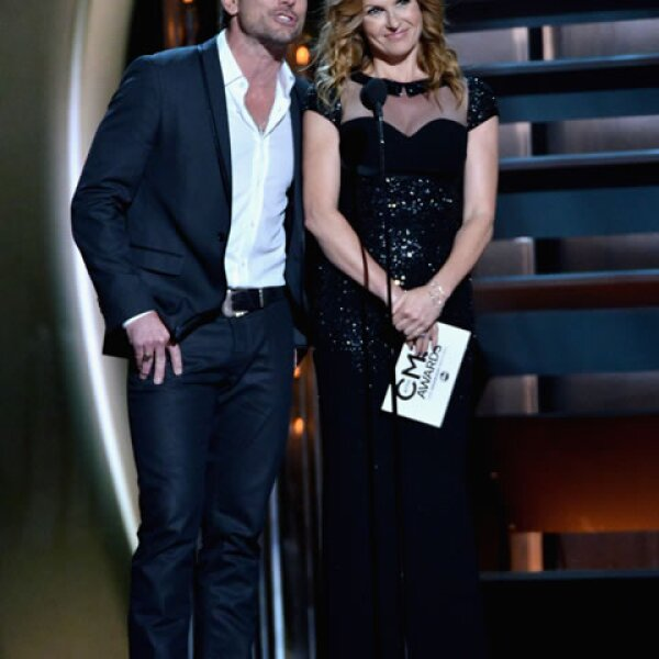 De la serie Nashville, Charles Esten y Connie Britton