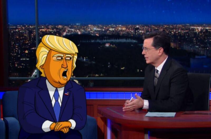 Trump animado