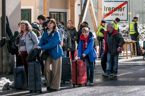 Austria Tightens Border To Italy Over Coronavirus