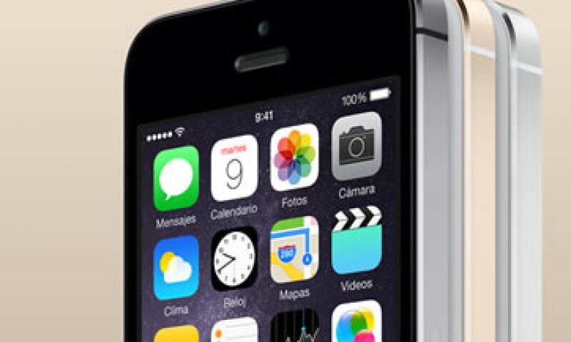 El iPhone 5S fue presentado en septiembre de 2013. (Foto: Tomada de http://store.apple.com/mx)