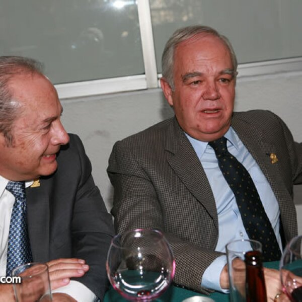 Alberto Valencia y Francisco Unzueta