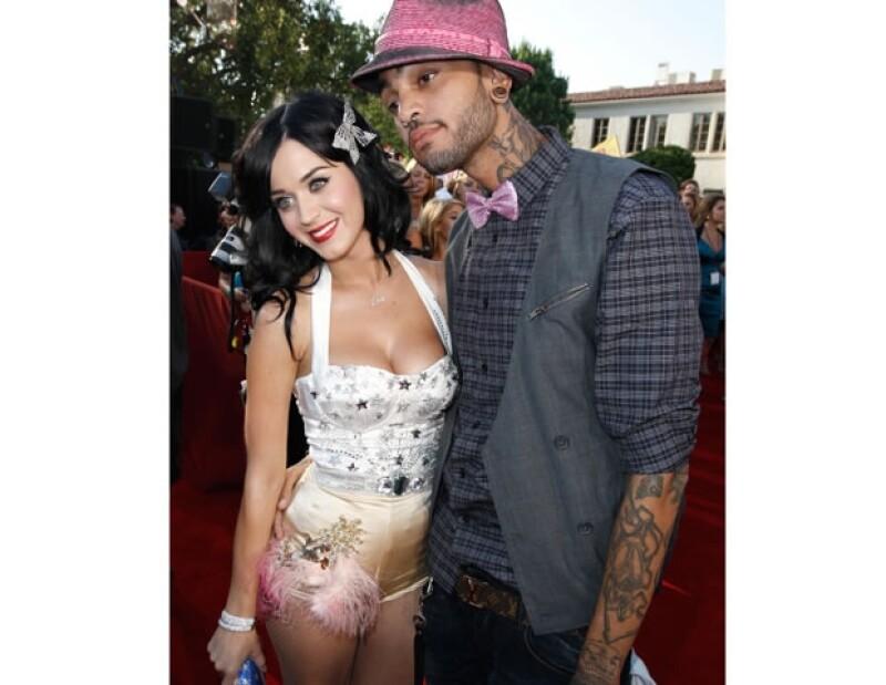 La pareja inició su relación cuando Katy comenzaba su carrera.