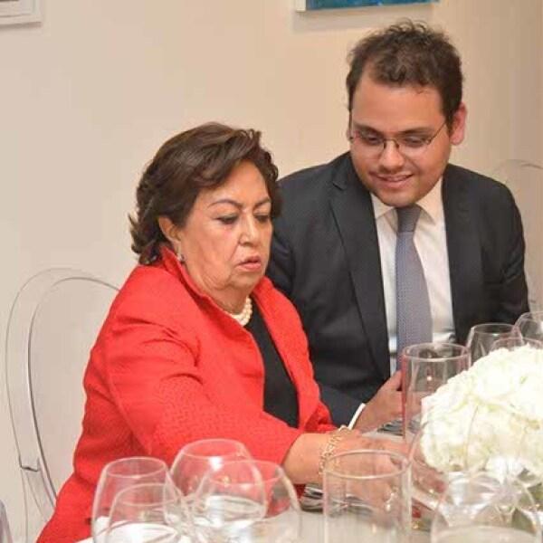 María Eugenia González y Miguel Ruelas.
