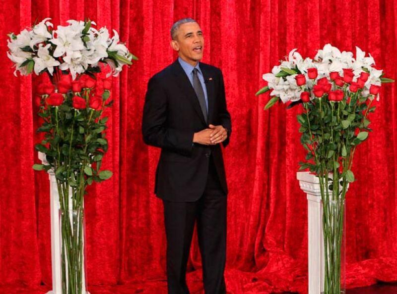 Con la ayuda de Ellen DeGeneres, el presidente de los Estados Unidos envió un mensaje a Michelle con motivo del Día del Amor y la Amistad.
