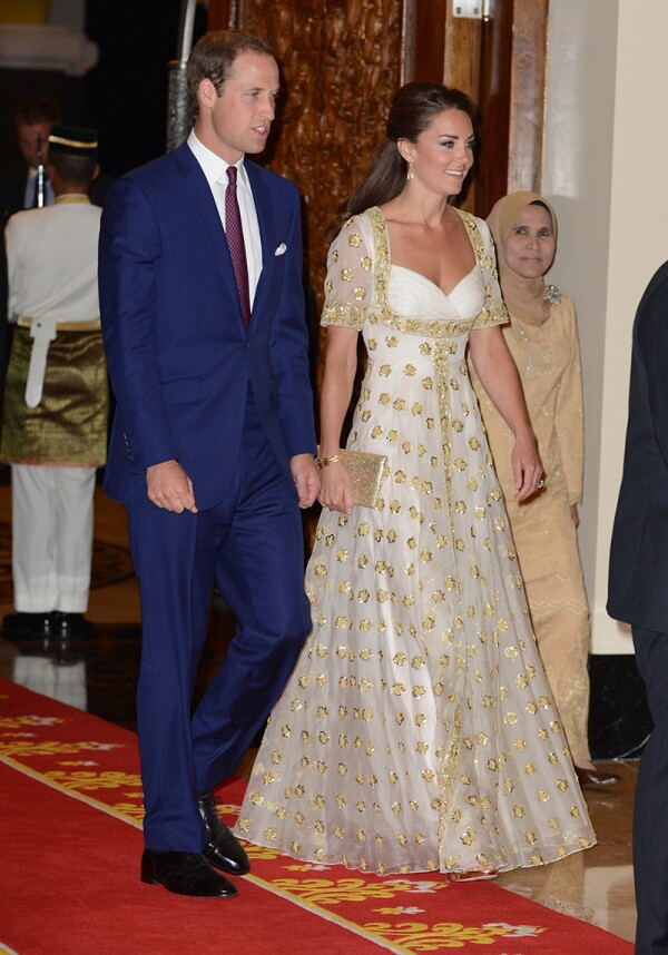 The Duke And Duchess Of Cambridge Diamond Jubilee Tour - Day 3