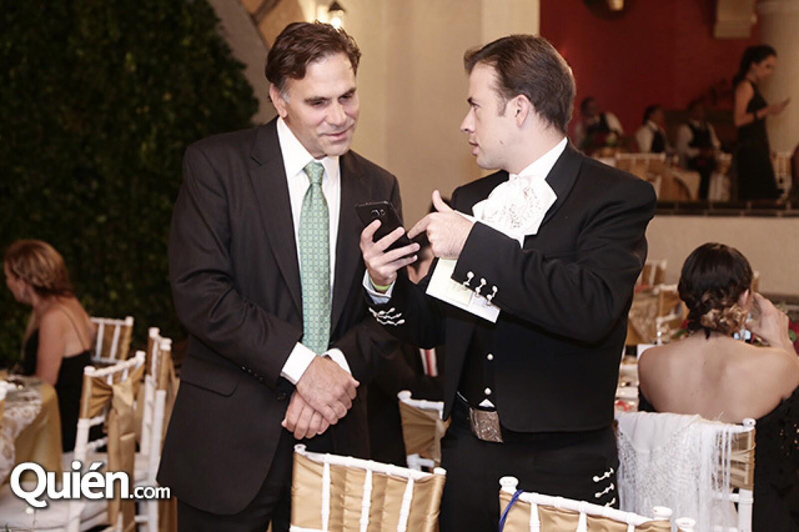 Paul Roberti y Berny Arenas