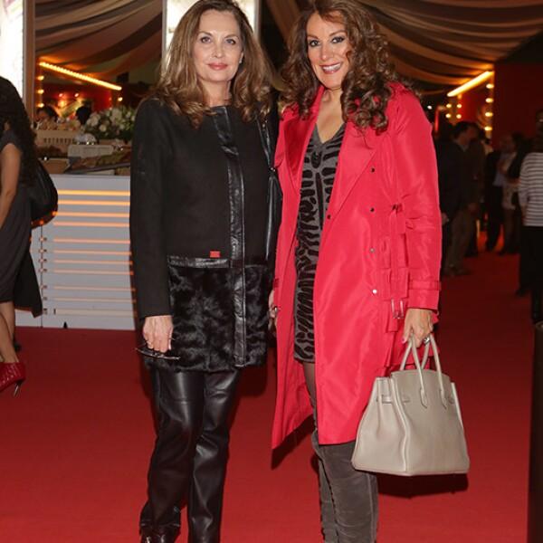 Cynthia Morales y Ana Laura Pascual
