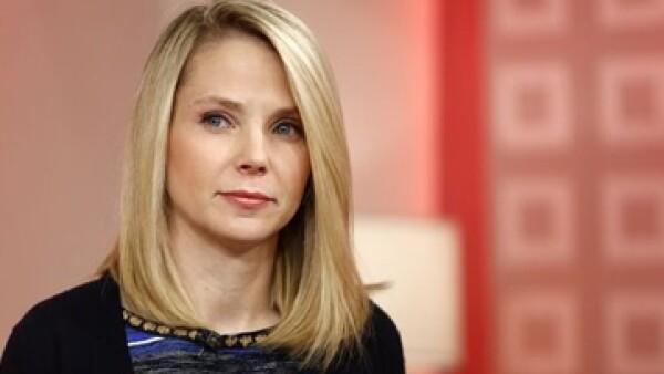 La CEO de Yahoo, Marissa Mayer ganó más que Steve Ballmer, líder de Microsoft , quién se llevó a casa 1.3 mdd. (Foto: Reuters)